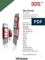 Guia Configuracion Nokia 5200 para Digitel