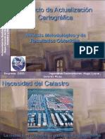 Proyecto de Actualización Cartográfica 2010