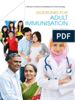 Adult Immunisation Guidelines 2014