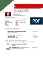 CV Iqbal 2016