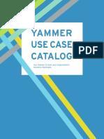 Yammer Use Case Catalog