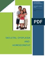 Skeletal Dysplasia and Homoeopathy