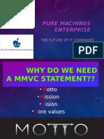 MMVC of a model company