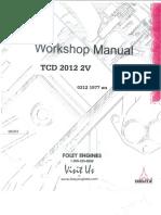 Deutz TCD 2012  2V Manual book