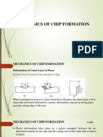 Chip Formation