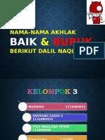 Nama-nama Akhlak Baik Dan Buruk Berikut Dalil Naqlinya