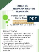 TALLER DE ALIMENTACION VIVA Y DE TRANSICION Clase Nro 2 Enero 2013.pdf