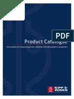 KippZonen Catalogue