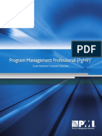PgMP Exam Outline