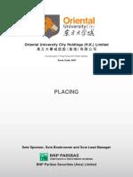 Oriental Holdings IPO Prospectus