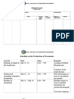 Operational Plan Format - MCNP