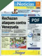 Últimas Noticias Vargas viernes  16 septiembre  de  2016