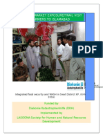 Report on Gladiolus Exposure Visit to Islamabad 26 Aug 2016