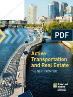 Active Transportation and Real Estate the Next Frontier