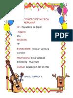 Cancionero de Música Peruana