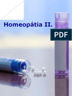 Homeopátia II.