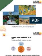 Estrategia Territorial Equitativa y sostenible del sector de Hidrocarburos-ETH