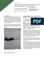 Informe Final de Fallas