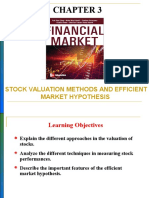 Chapter 3- Stock valuation methods and EMH.ppt