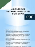 -Consilierea Si Orientarea Cop Cu Disabilitati