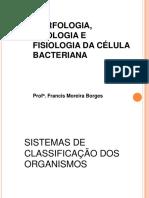 Morfologia Citologia e Fisiologia Da Célula Bacteriana Aula 2 MicroI