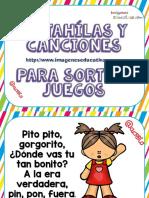 Canciones y Retahilas Para Sortear Juegos PDF