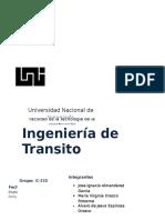 ING. Transito