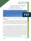 18. IJASR - Impact of Drought Tolerance Effects on Maize Hybrids 1