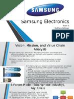 Samsung Electronics Presentation
