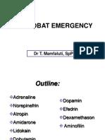 (12) Emergency Drugs