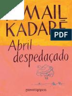 d3eb80963 Abril Despedacado - Ismail Kadare
