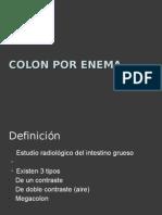 Colon Por Enema