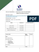 BCT 1024- Assignment 2 (LG) Cyan