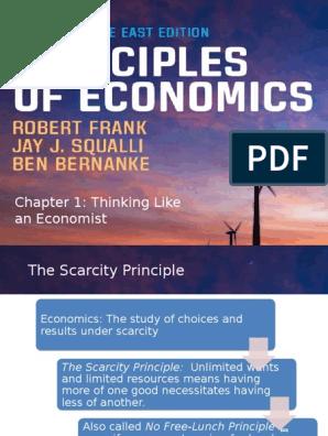Chapter 1 - Thinking Like an Economist | Macroeconomics