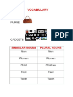 Vocabulary Unit 1b