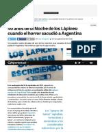 40 Años de La Noche de Los Lápices_ Cuando El Horror Sacudió a Argentina