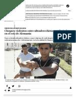 Choques Violentos Entre Ultraderechistas y Refugiados en El Este de Alemania