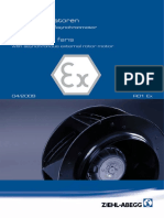 Catálogo de Ventiladores Centrífugos R01 Ex
