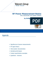 RF Power Measurement Basics