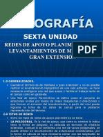 TOPOGRAFÍA (REDES DE APOYO PLANIMÉTRICO Y LEVANTAMIENTOS DE MEDIANA Y GRAN EXTENSIÓN)