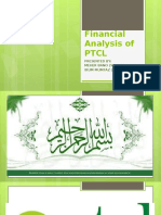 Financial Analysis of PTCL