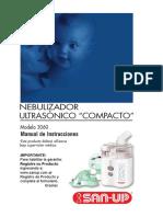 Manual Nebulizador ultrasonico San up
