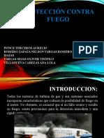 PROTECCION CONTRA FUEGO