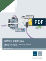 Manual Simocode Pro Profibus Es-mx
