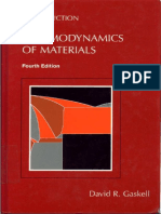 Yash Introduction of Thermodynamics of Materials David R Gaskell