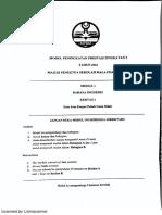 Kedah SPM Trial - English Paper 1 2016
