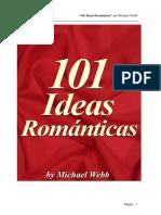 eBook Gratis 101 Ideas Romanticas Por Michael Webb Cortesia TeoTrainer Com