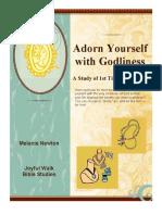 Adorn Yourself Bible Study