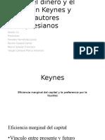 Dinero e Interés en Keynes y Poskeynesianos. Relación Con Marx.