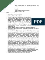 ENTREVISTA SOBRE SELECCIÓN Y RECLUTAMIENTO DE PERSONAL.doc